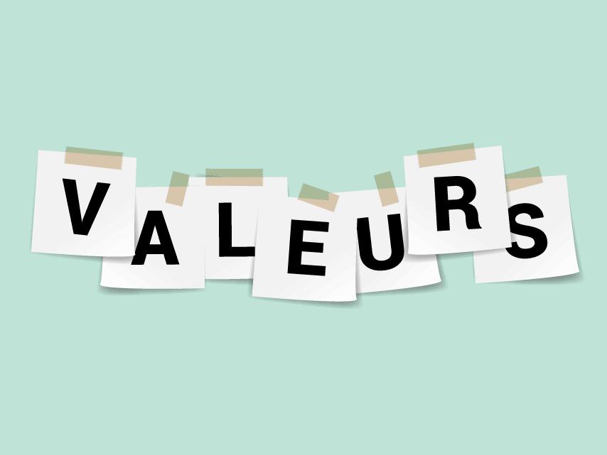 Test sur les valeurs !