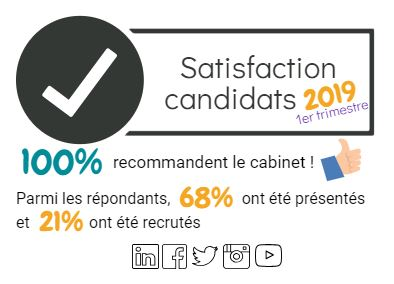 Satisfaction candidats !